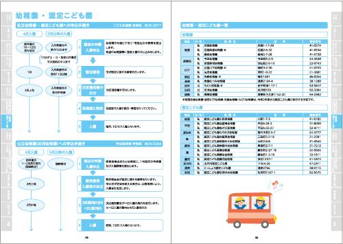 幼稚園 ・ 認定こども園(P29~30)